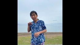 キャンプ湖水浴編